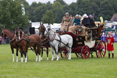 Stagecoach Royalty Free Stock Photo