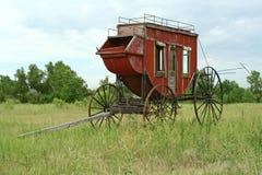 Stagecoach ocidental imagens de stock