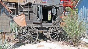 Stagecoach royalty free stock image