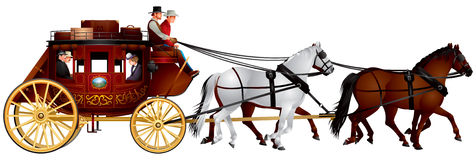 Stagecoach Stock Images