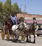 Stagecoach przejażdżka Zdjęcie Stock