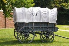 Stagecoach przy harfiarza promem zdjęcia stock