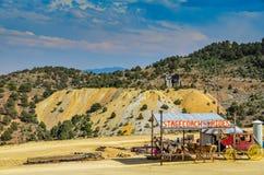 Stagecoach Rides - Virginia City, Nevada Stock Photo