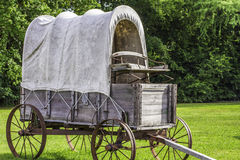 Stagecoach. A side view of a stagecoach that was from the 1800s Stock Image