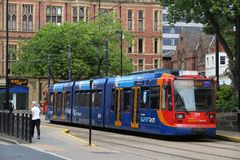 Stagecoach SuperTram Stock Images