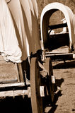 Stagecoaches in a Row. Weathered Stagecoaches in a Row Rusting in Outdoor Museum located in Sunny Valley, Oregon Stock Images