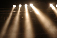 Stagelights Fotos de Stock Royalty Free