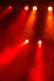 Stagelights Royalty Free Stock Photography