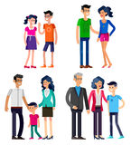 Stages of life young couple Stock Photo