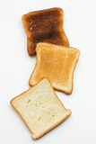 Stages Of Toast Royalty Free Stock Image