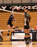Stagg High School Girl Volleyball player Stock Images