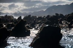 Staggering красота острова белковой частицы стоковая фотография rf