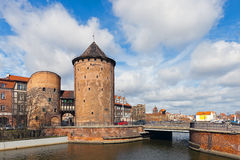 Stagiewna Gate in Gdansk, Poland. Stock Images