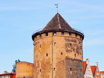 Stagiewna Gate in Gdansk, Poland Royalty Free Stock Photography