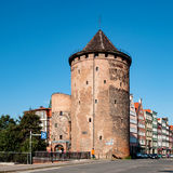 Stagiewna Gate and Tower in Gdansk Royalty Free Stock Image