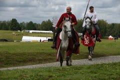 Light, medieval ride Stock Photos