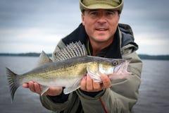 Stagione della pesca dei glaucomi Fotografia Stock Libera da Diritti