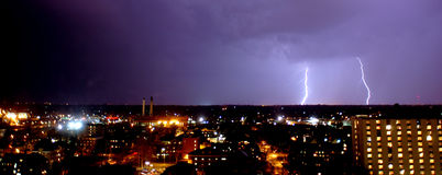 Stagione della tempesta Fotografie Stock