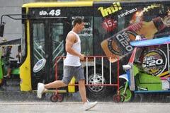 Stagione delle pioggie a Bangkok Fotografie Stock