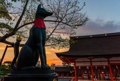 Stagione di autunno di Kyoto Fotografie Stock