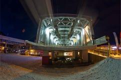 Stagione di inverno, Haute Savoia, Francia Fotografia Stock Libera da Diritti