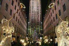 Stagione di natale a New York Immagine Stock Libera da Diritti
