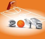 Stagione di pallacanestro illustrazione vettoriale