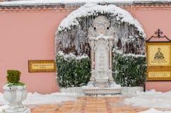 Stagione invernale fredda Fotografia Stock Libera da Diritti
