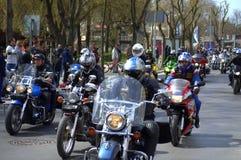Stagione 2016 Varna, Bulgaria del motociclo di apertura Fotografia Stock Libera da Diritti