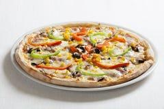 Stagioni di quatrro della pizza Fotografia Stock Libera da Diritti