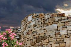 Stagira - Oude stad, de geboren stad van Aristoteles Royalty-vrije Stock Fotografie