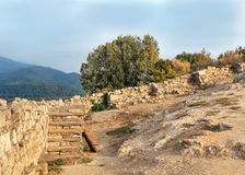 Stagira view  - Greece ancient city Stock Image