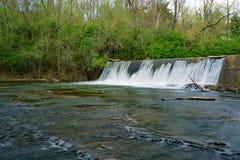 Stagnaio Creek Dam fotografie stock