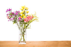 Stagnant water within flower vase potential breeding place for m Stock Image
