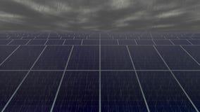 Stagnation in der Solarindustrie stock video footage