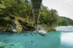 Stagni blu nel parco nazionale d'aspirazione del supporto Immagine Stock Libera da Diritti
