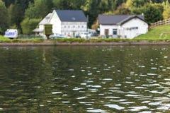 stagni di allevamento del pesce Fotografie Stock