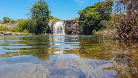 Stagni di Mac Mac sulla traccia di Fanie Botha Hiking immagini stock libere da diritti