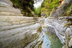Stagni di Papingo, Grecia Fotografia Stock