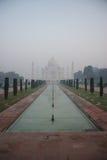 Stagni di riflessione e di Taj Mahal Fotografia Stock Libera da Diritti