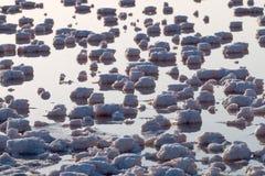 Stagni salini di evaporazione Immagini Stock Libere da Diritti