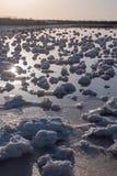 Stagni salini di evaporazione Immagine Stock