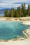 Stagno del bacino di Yellowstone fotografia stock libera da diritti