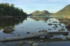 Stagno del Giordano, Acadia Immagini Stock Libere da Diritti