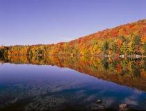 Stagno del Grant del New Hampshire fotografia stock libera da diritti