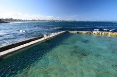 Stagno del mare di Bower del fatato manly sydney Il Nuovo Galles del Sud l'australia Fotografie Stock Libere da Diritti