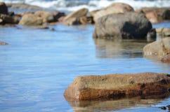 Stagno dell'acqua di mare Fotografie Stock Libere da Diritti