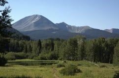 Stagno della montagna dell'Utah Immagini Stock Libere da Diritti