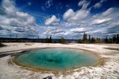 Stagno della sosta nazionale del Yellowstone Immagine Stock Libera da Diritti