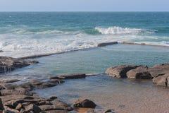 Stagno di marea di Ballito Fotografie Stock Libere da Diritti
